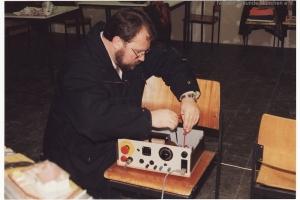 1990 Probeaufbau